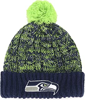 NFL Women's OTS Brilyn Cuff Knit Cap with Pom