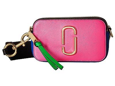 Marc Jacobs Snapshot (Vivid Pink Multi) Handbags