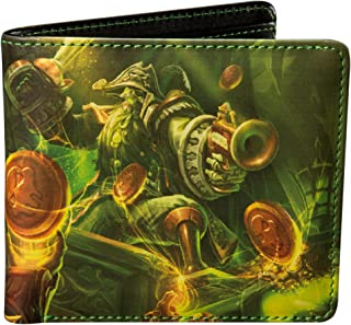 JINX Heroes of the Storm Blackheart's Bay Bi-Fold Wallet, Multi-Colored, One Size