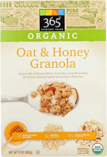 365 Everyday Value, Organic Oat & Honey Granola, 17 oz