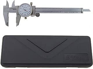 T0029 Dial Caliper Black Face 0.1//Rev 0-6 0.001 0 to 12 Range 0.001 Graduation Dial Caliper 0.1 per Revolution