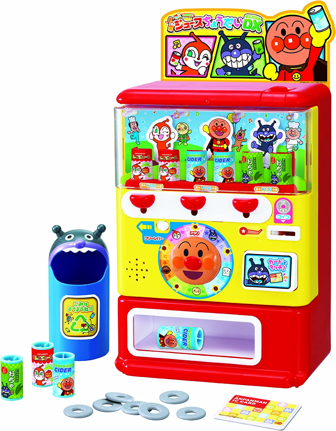 Anpanman card DX give me  Usable juice (japan import)