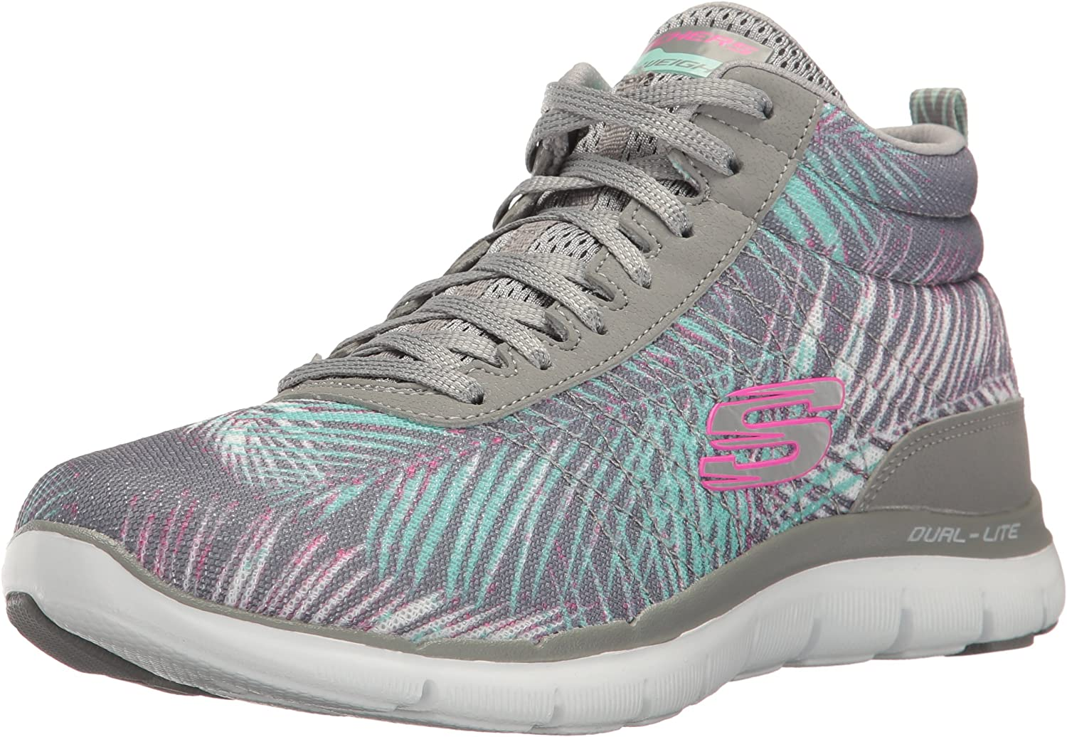 Skechers Womens Flex Appeal 2.0 New Recruit Fashion Sneaker