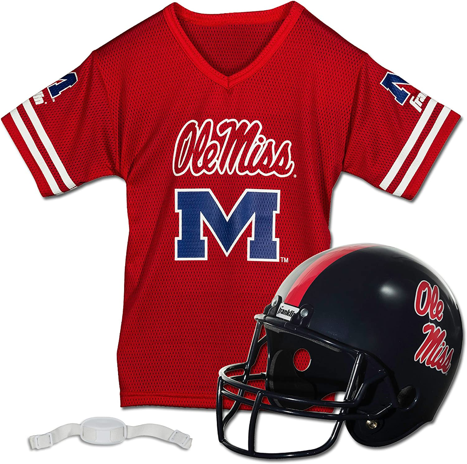 Franklin Sports NCAA Kids Football Helmet Jersey Youth Deluxe Tulsa Mall - and Set