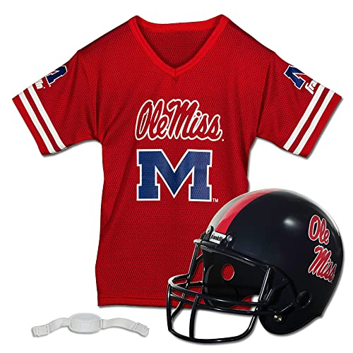 Franklin Sports NCAA Youth Helmet Jersey Set 36738d256