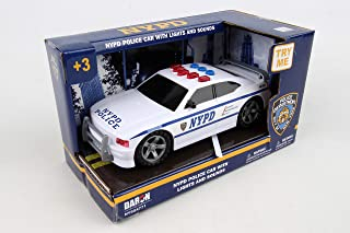 Daron NYPD Police Car with Lights & Sounds