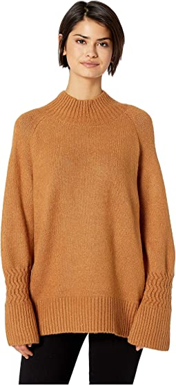 696cb6d8e7e6ab Mock Neck Sweater