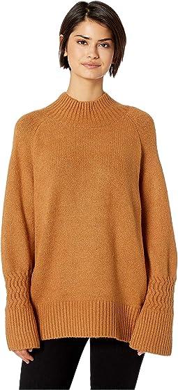 a5c0c99d02111c Mock Neck Sweater