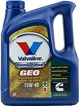 Valvoline VV774039-13 Premium Blue 15W40 GEO Motor Oil, 1 Gallon