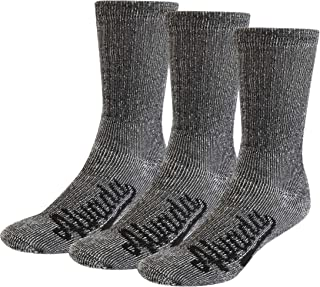 Alvada 80% Merino Wool Hiking Socks Thermal Warm Crew Winter Boot Sock for Men & Women 3 Pairs