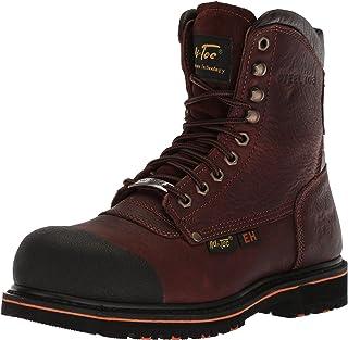 Adtec Men's 9725 Ankle Boot, Dark Brown, 8 Wide US
