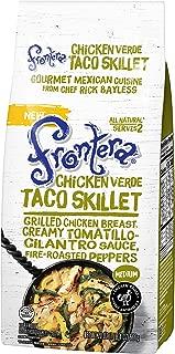 FRONTERA Chicken Verde Taco Skillet Frozen Meal, Two Servings, Medium, 20 oz.