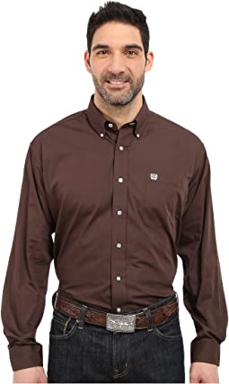 Long Sleeve Button Down Solid