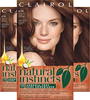 natural medium auburn hair color