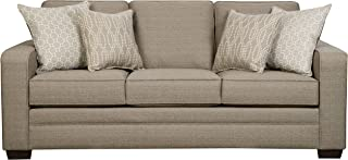 Simmons Upholstery Seguin Pewter Sofa, Pewter