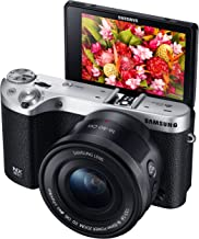 Samsung Electronics EV-NX500ZBMIUS NX500 28 MP Wireless Smart Compact System Camera with Included Kit Lens