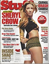 Stuff Magazine, March 2002, N° 28: Sheryl Crow Spreads her Wings, Inside Shaq's Secret Stash, Fashion Special, Carnal Crash Course & other articles