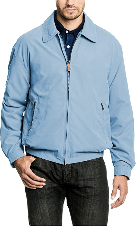 50s Men's Jackets | Greaser Jackets, Leather, Bomber, Gabardine London Fog Mens Big and Tall Auburn Golf Jacket  AT vintagedancer.com