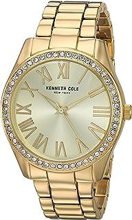 ساعة كينيث كول كوارتز للنساء انالوج بعقارب وسوار من الستانلس ستيل KC50664001