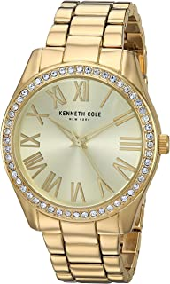 Kenneth Cole Womens Quartz Watch, Analog Display and Stainless Steel Strap KC50664001