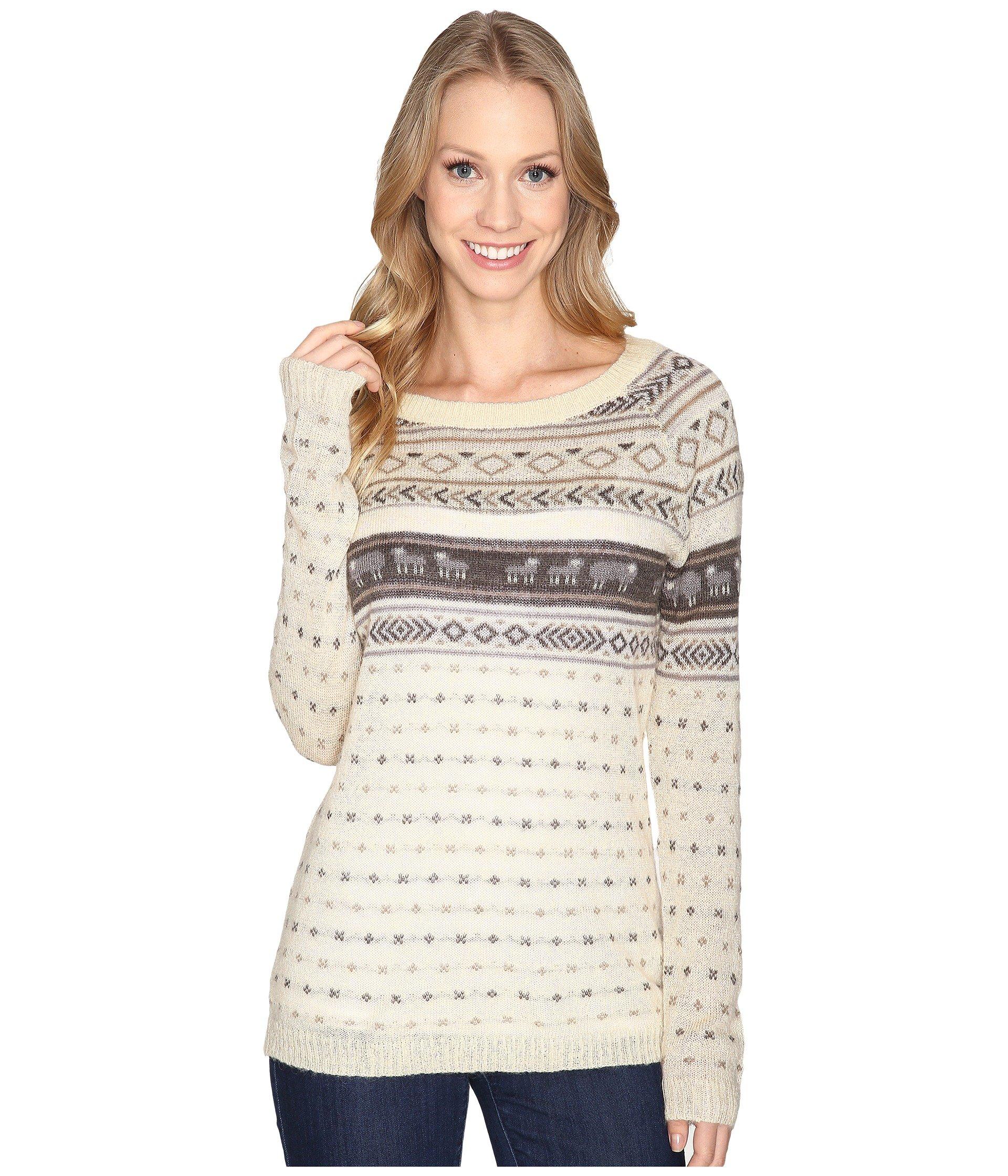 Saco para Mujer Woolrich Mohair Fairisle II Sweater  + Woolrich en VeoyCompro.net