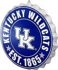 FOCO NCAA Bottle Cap Wall Sign, Kentucky Wildcats