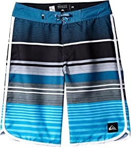 Quiksilver Kids - Eye Scallop Boardshorts (Big Kids)