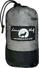 Lone Wolf: Special Edition - Large - Endura 100% Mulberry Silk Liner Hostel Travel Sheet Sleeping Bag Liner