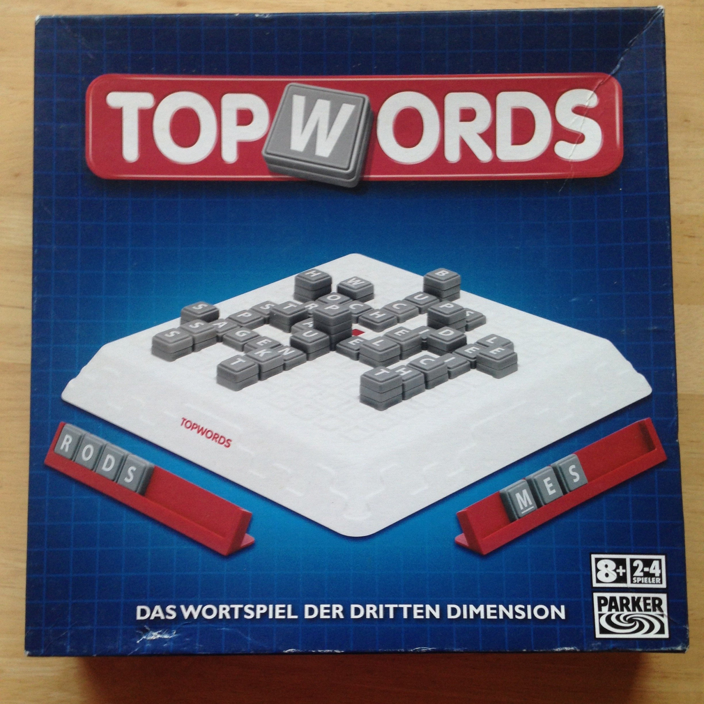 Parker 14577100 Topwords - Juego de Mesa para Hacer Palabras [Importado de Alemania]: Amazon.es: Juguetes y juegos
