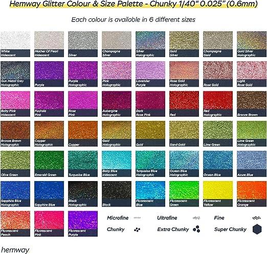 Hemway Craft Glitzerbeutel Für Kunsthandwerk Becher Schulen Papier Glas Dekorationen Heimwerkerprojekte 1 40 0 6mm Lindgrün Küche Haushalt