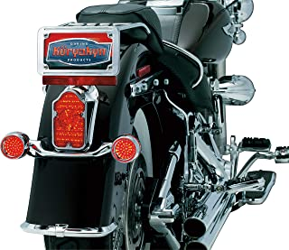 Kuryakyn 5410 Motorcycle Lighting: Tombstone LED Taillight Conversion Kit Light for 2005-17 Harley-Davidson Motorcycles, Red Lens