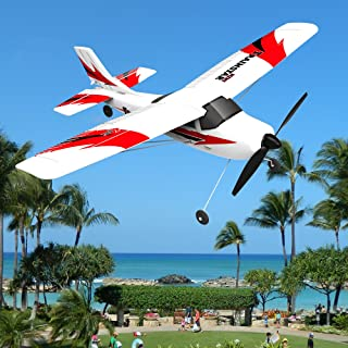 POCO DIVO Mini Trainstar RTF Super Cub 2.4Ghz RC 3CH 6-Axis Gyro Airplane EPP Beginner Glider R/C Piper J-3 Auto-Pilot Trainer Plane V761-1