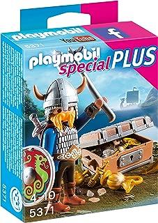 Playmobil Viking with Treasure Toy, Multi-Colour, 5371