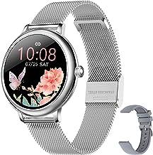Smartwatch, dames, smartwatch, sporthorloge, stappenteller, waterdicht, IP67, zwemmen, hardlopen, smartwatch, vibratie, st...