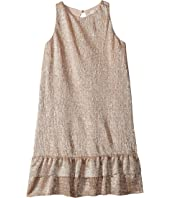 Kate Spade New York Kids - Metallic Knit Dress (Little Kids/Big Kids)