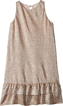 Metallic Knit Dress (Little Kids/Big Kids)