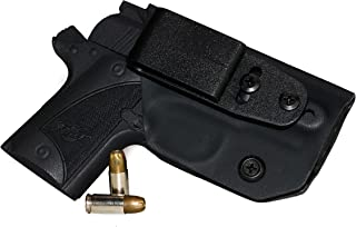 FoxX Holsters Deluxe Trapp Kydex IWB Holster - Kimber Micro 9 Our Smallest Inside Waistband Holster Adjustable Cant & Retention, Conceal Carry
