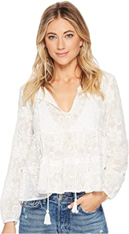 BB Dakota - Isobel Embroidered Top