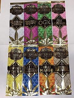 Billionaire Hemp Wraps Variety Pack (16 Wraps) 8 Packs one Each Flavor; OGK Natural Ballin' Blueberry Milli Mango Majestic...