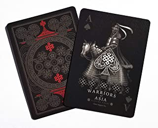 Gent Supply Bicycle Warriors of Asia Playing Cards
