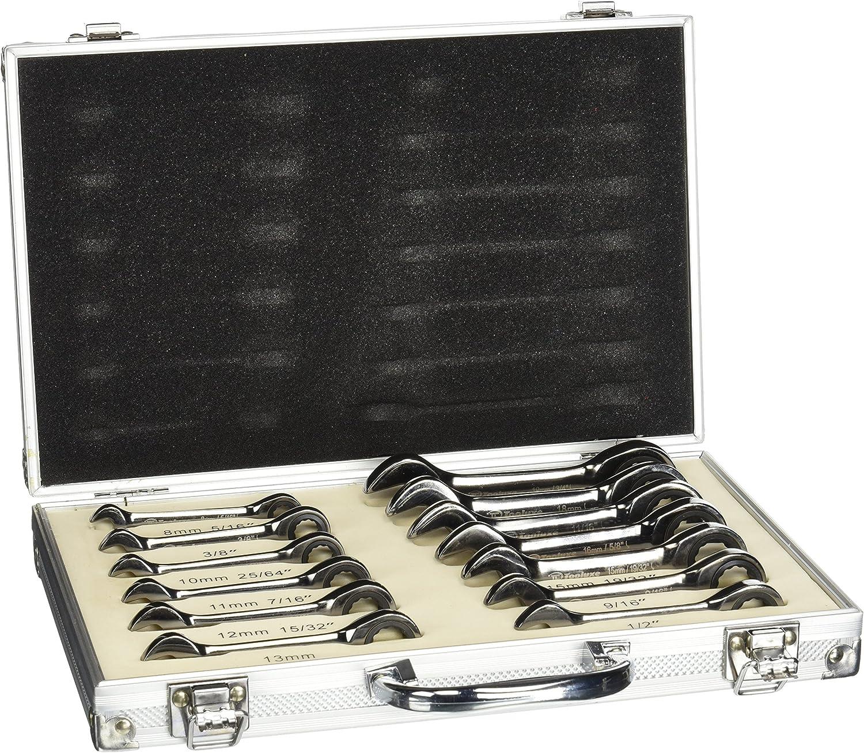 Tooluxe 03631l-Duo 03631l-Duo 03631l-Duo Metrisches Stubby Schlüssel Set, Sae & Metrisches mit Durable Aluminium Geschenkbox (13 Stück) B002WQFINE | Vorzügliche Verarbeitung  bde594