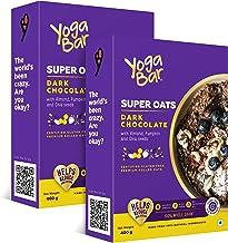 Yogabar Dark Chocolate Premium Super Oats | Pack of 2 | 400gm Each
