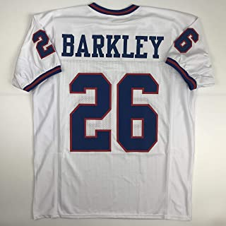 Unsigned Saquon Barkley New York Color Rush Custom Stitched Football Jersey Size Men's XL New No Brands/Logos