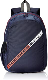 United Colors of Benetton 20 Ltrs Navy Laptop Backpack (0IP6MPBKP003I)