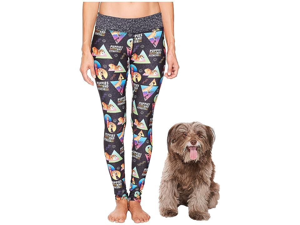 Puppies Make Me Happy - Puppies Make Me Happy Puppies Fitness Leggings