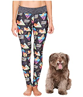 Puppies & Fitness Leggings