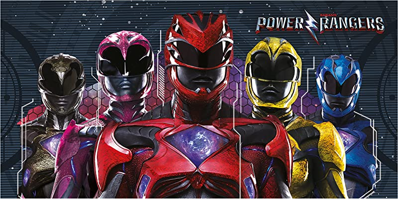 Power Rangers Movie Towel Multicolour