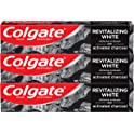 3-Pack Colgate Essentials Charcoal Teeth Whitening Toothpaste, 4.6 oz