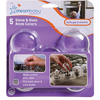 Clear KidKusion Stove Lock 5-Count