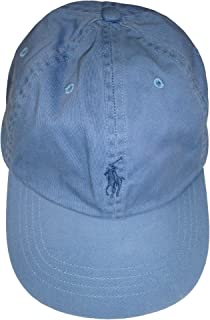Polo Men's Hat Ball Cap Blue with Blue Pony